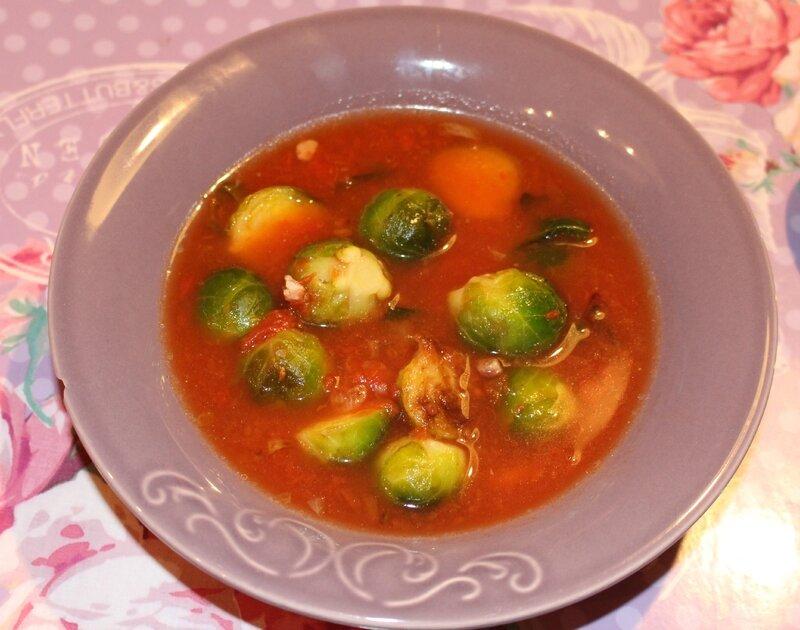 soupe choux Bruxelles