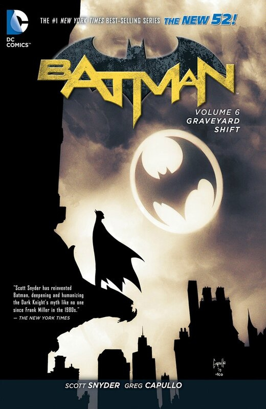 batman vol 6 graveyard shift HC