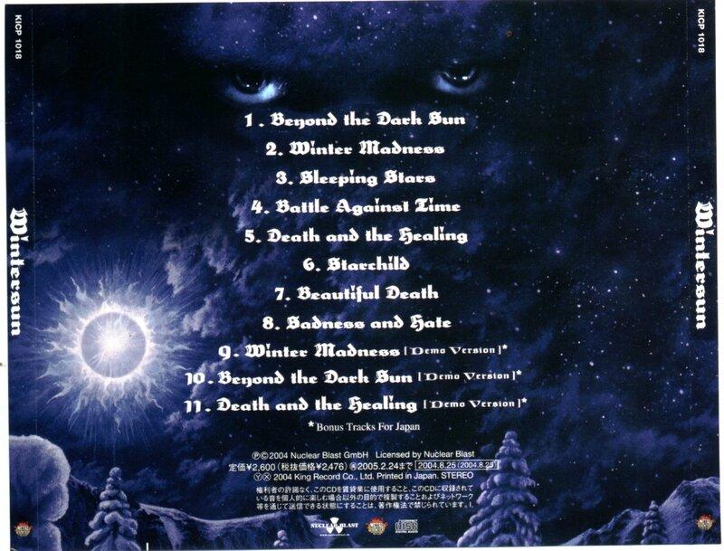 Wintersun - 2004 - Wintersun 10 Back