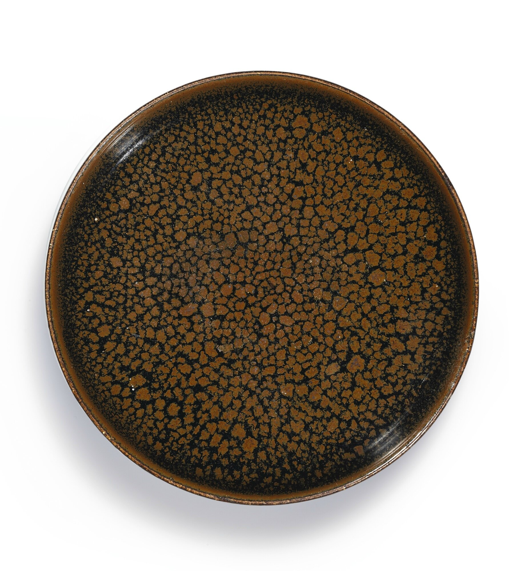 A 'Cizhou' black-glazed 'oil spot' bowl, Northern Song dynasty (960-1179)