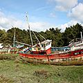 Cimetière Bateaux, Bretagne - P_7049
