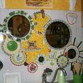 La fresque mosaique de ma cuisine