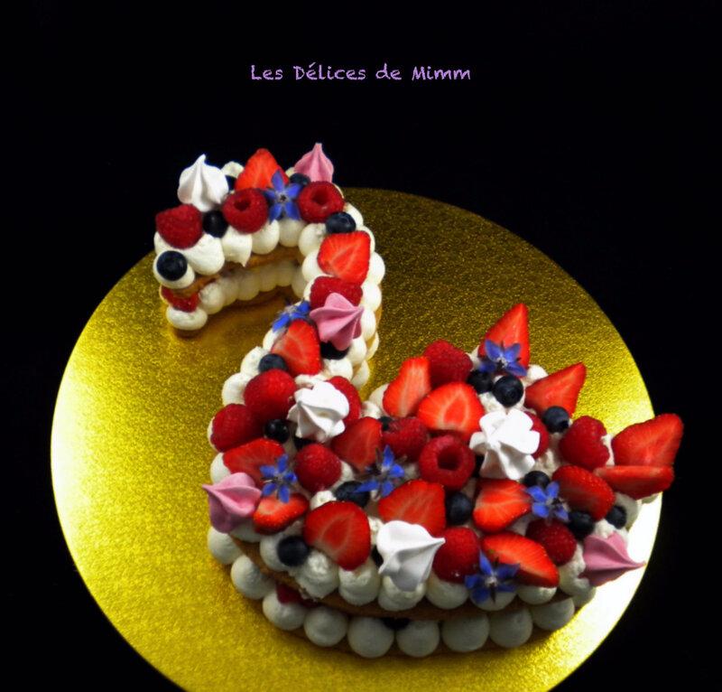 Le flamingo cake