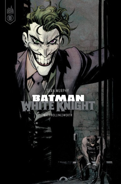 Urban Black Label Batman White Knight