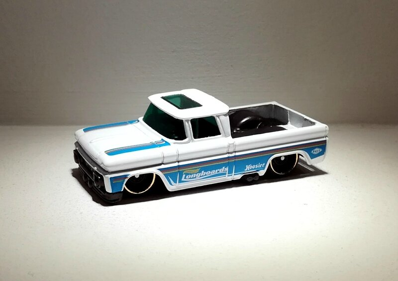 Chevrolet Chevy Pick-Up Custom de 1962 (Hotwheels) 04