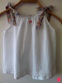 plumetis coton froissé blanc