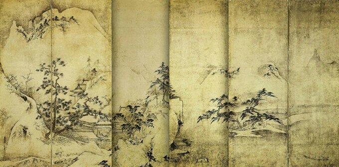 Paysage_des_quatre_saisons_(2)_par_Tenshō_Shūbun copie
