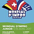Le mondial d'impro junior, du 13 au 16 avril 2017
