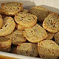 Sables aux noix de pecan (thermomix)