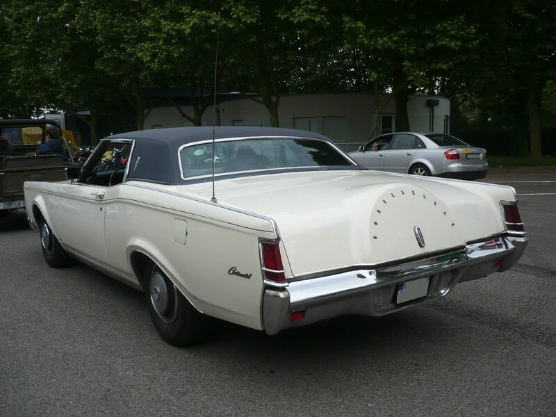 LINCOLN Continental Mark III 1970 Illzach (2)