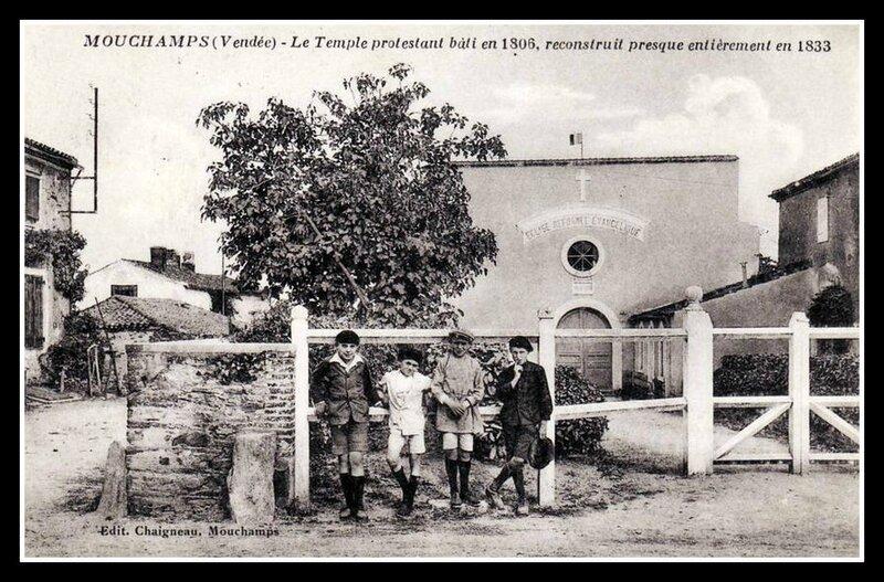 Mouchamps temple protestant