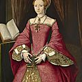 Attributed to william scrots (active 1537-53), elizabeth i when a princess, c.1546