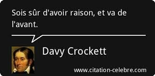 Citation Davy Crockett