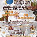 Les samedi 13 et dimanche 14 mai, salon bien-être à villefranche-en-beaujolais