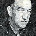 Brigadier-général don forester pratt. commandant-adjoint de la 101st airborne.