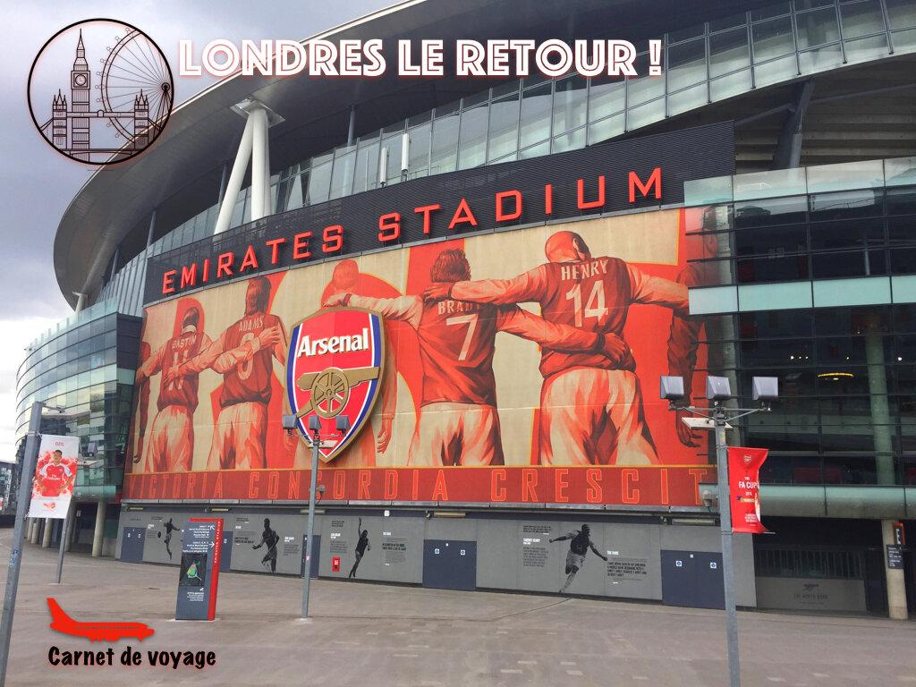 [Carnet de voyage] Londres le Retour ! - Jour 3 – Arsenal & Comédie musicale