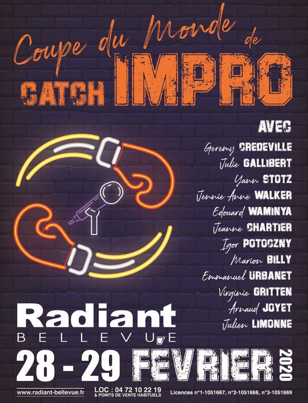 Coupe catch Impro