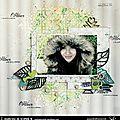 Créatrice sokai // c'est l'hiver // scrapbooking et loisirs créatifs