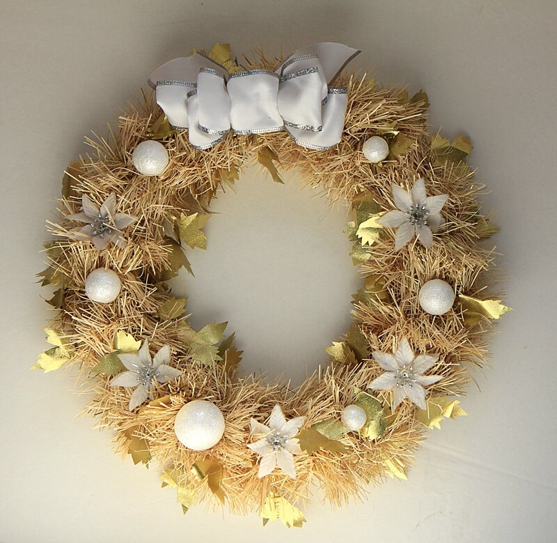Wreath gold2
