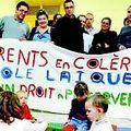 Éducation des parents d'élèves relancent la nuit des écoles ( midi libre du 22 avril)