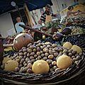 Troisième jour. marché de saint rémy, mas blanc des alpilles, saint etienne de grès, moulin de daudet, aqueducs de barbegal, fon