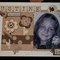 Encore une jolie nana....Justine...