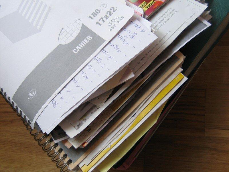 L 39 ultimatum ou comment organiser mes cahiers de - Comment ranger ses recettes de cuisine ...