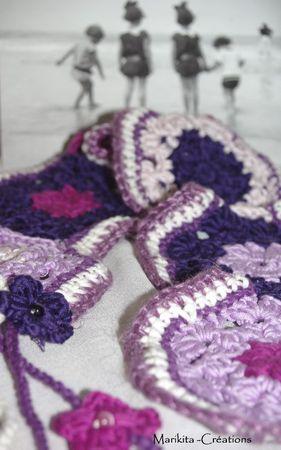 echarpe crochet maman