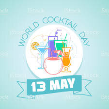 13 May World Cocktail Day Stock Illustration - Download Image Now ...