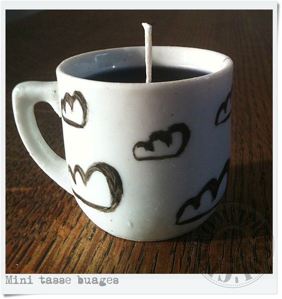 Mini tasse nuages - face