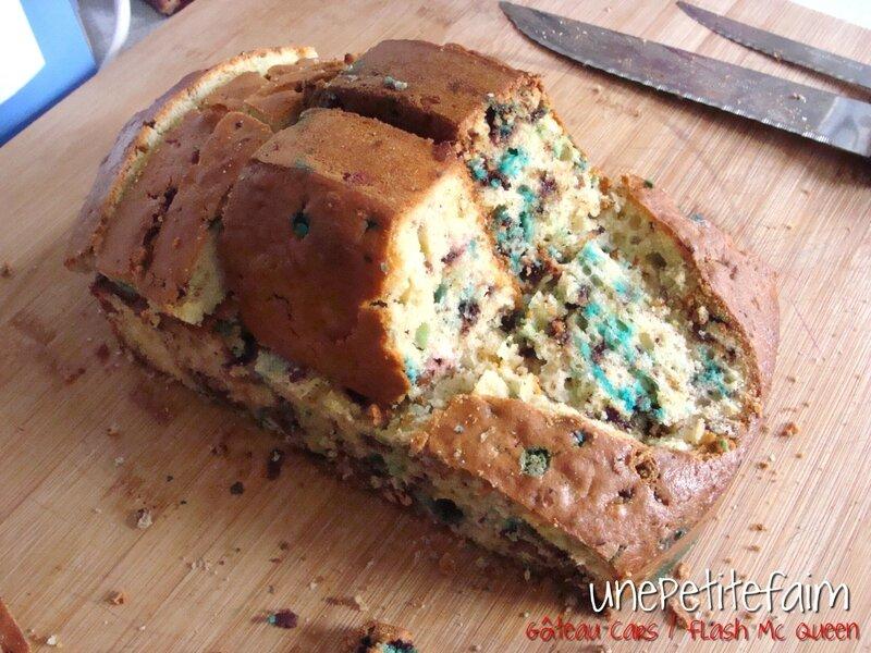 Gâteau Flash Mc Queen - découpe 5