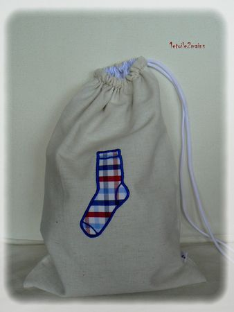 sac chaussettes