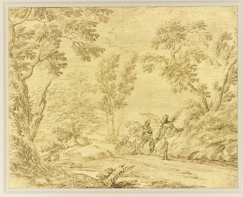 Pier Francesco Cittadini (161316-81), The Flight into Egypt, c
