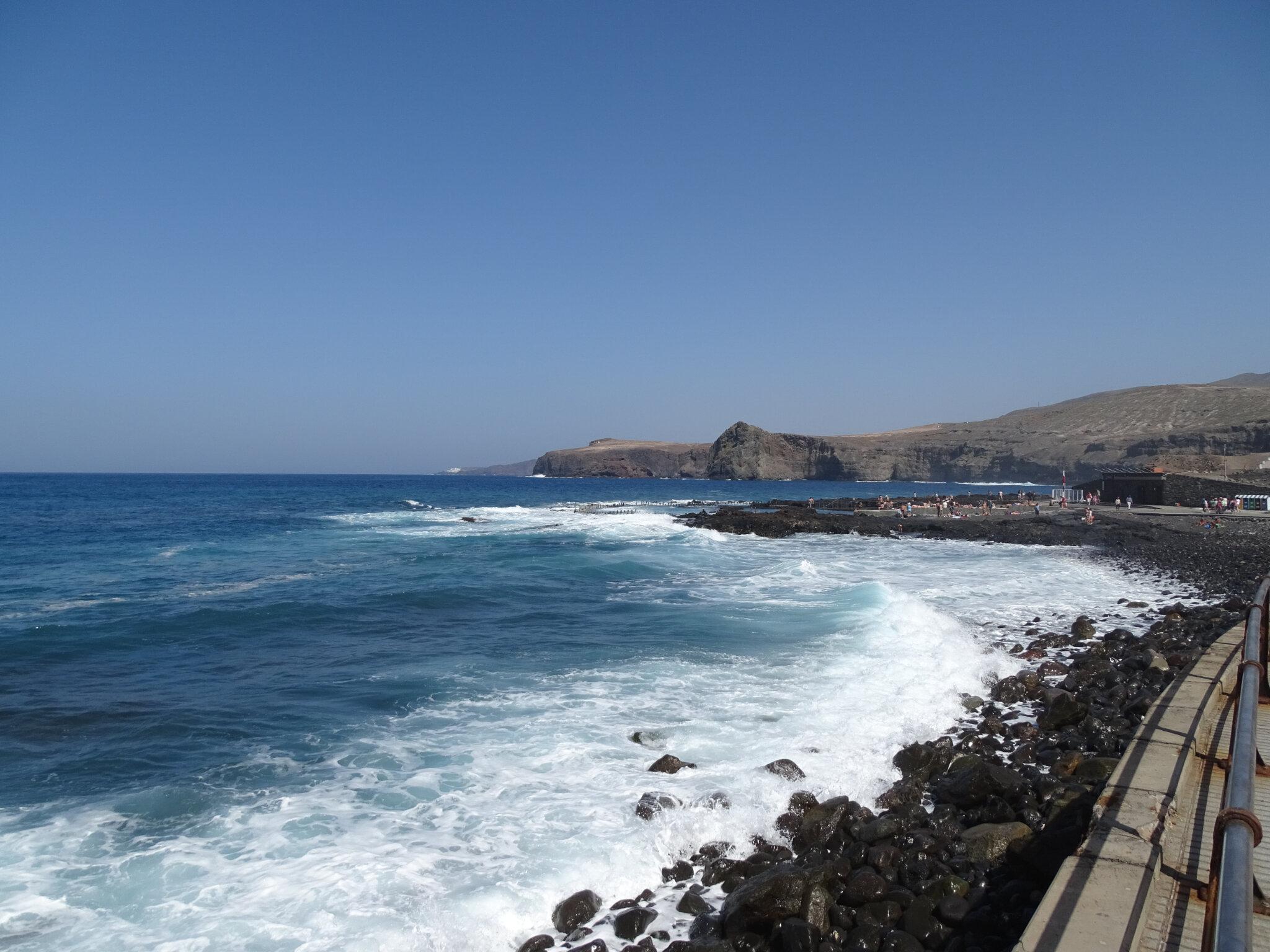 PISCINES NATURELLES DE MER, PUERTO DE LAS NIEVES, AGAETE (île de Gran Canaria)