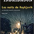 8. les nuits de reykjavik de arnaldur indridason