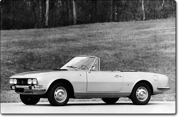 Peugeot 504 Coupé Cabriolet - 1969-1983)