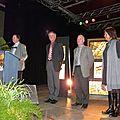 Pierre Brasme proclame le Prix René-Paquet