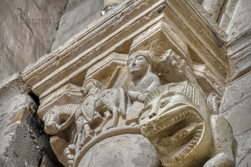 Histoire du Poitou - L'église Saint-Pierre d'Airvault (6)