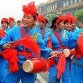 Beijing (2ème jour) - La représentation pour la cérémonie de départ