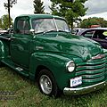 Chevrolet 1300 3window pickup-1951