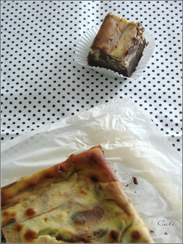 Cheesecake Brownie aux Pommes 002