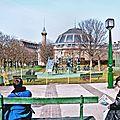 J111 - jardin des halles au printemps 2010