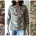 Blouse harry james jungle nippone!