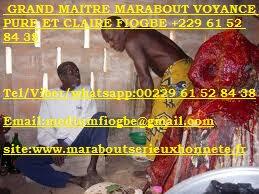 GRAND MAITRE MARABOUT VOYANCE PURE ET CLAIRE FIOGBE