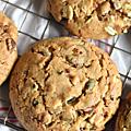 Cookies trois chocolats & graines