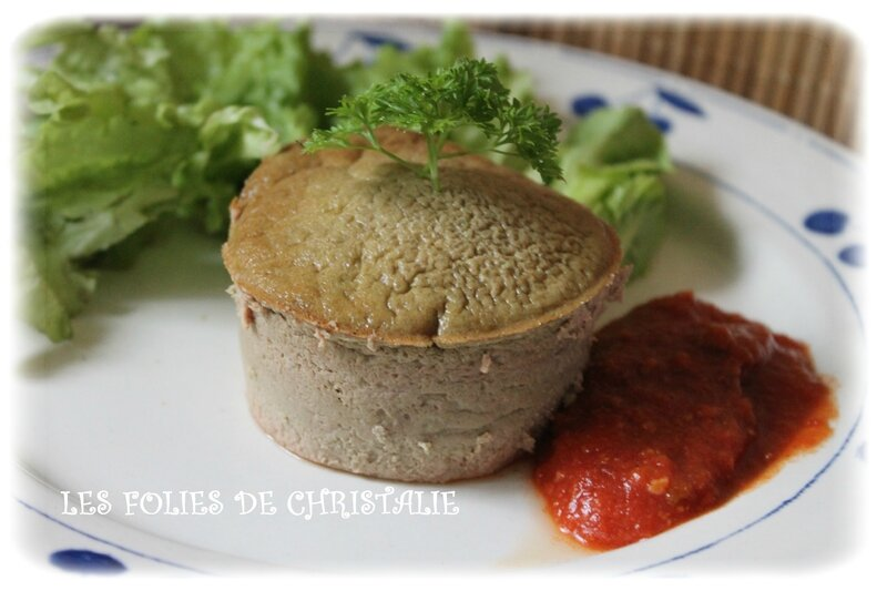 Gâteau foies volaille 3