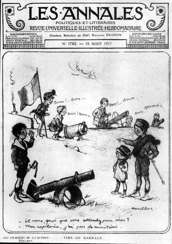 Les annales 17 08 1917 Poulbot