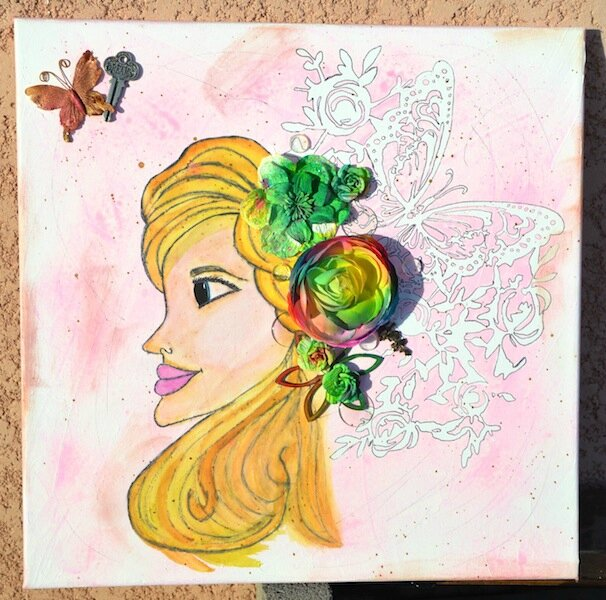 Canvas princesse Lily 1 - Eté 2014