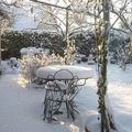La neige recouvre tout ...