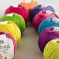 [dmc natura] nouveaux coloriiiiiiiiis !!!!!!!!!!!
